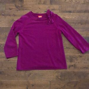 J crew boat neck cashmere sweater